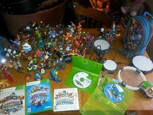 giant selection of Skylanders