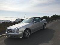 Mercedes CLK 230 Elegance Komp Auto 2000 model Convertible