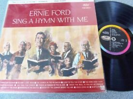 Tennessee Ernie Ford ‎– Sing A Hymn With Me Capitol Records ‎– T-1332 1960Vinyl, LP, Album, Mono
