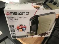 Ambiance coffee machine compatable with nespressoo