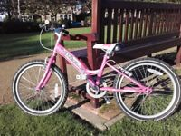 20 inch Claud Butler Girl's Bicycle