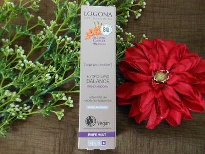 (63,33€/100ml) Logona Age Protection Hydro-Lipid Balance 30 ml ()