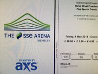 Two Manic street preachers concert Tickets Great seats Wembley Arena 4/5/18