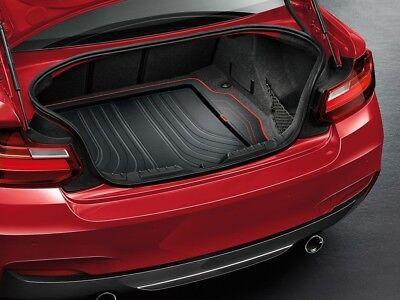 BMW 2er Coupe F22 ab 03.14 Laderaum Kofferraumteppich schwarz