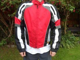 Frank Thomas motorcycle jacket (large)
