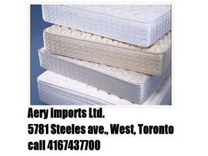 BEST QUALITY MATTRESSES ON SALE ,CALL 4167437700