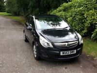 Low Mileage Excellent condition 2013 Vauxhall Corsa Exclusiv 1.3CDTi EcoFLEX 5Door(A/C) with FSH