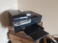 HP Officejet Pro 4500 Wireless Colour Ink jet Printer, Scanner, Copier and Fax, PSU and USB cable