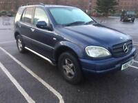 2001 Y reg Mercedes-Benz ML 2.7 Cdi Automatic Leather 113k Miles 7 Seater