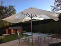 PARASOL large garden parasol