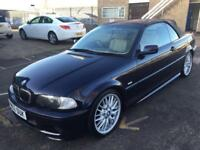 BMW 325i m sport manual 2002 f/s/h 150k 1 year mot