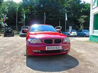 BMW 1 SERIES 118D SE - Just Serviced (red) 2009