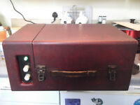 Early Dansette Record Player-Working condition.