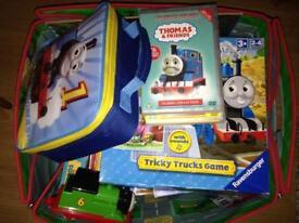 Thomas the tank engine games toys