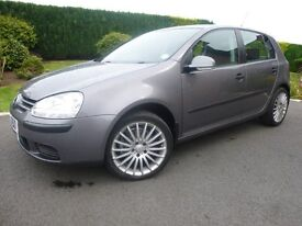 Vw Golf 1.4 Petrol 5 Door , New timimg Belt/Kit & Clutch Fitted @ 50000 miles