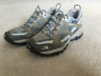 North Face Vibram walking shoes. UK size 5. Good condition