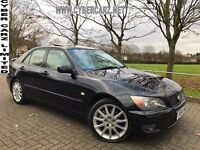 2004 LEXUS IS 200 PETROL + LEATHER + 1 OWNER
