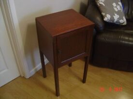 Retro Oak Cupboard Stained Mahogany . Made by the Bristol Furiture Maker P. E Gane Ltd. Can Deliver