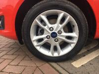ford fiesta 2009/2015 alloys wheels 2 sets