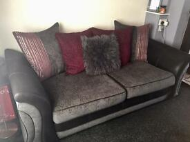 3 & 2 seater pillow back sofa