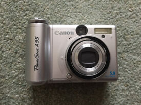 Canon Powershot A95 5.0mp 3.0x Optical Zoom Digital Camera