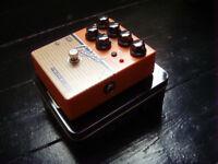 Sasamp Tech 21 Orange Oxford overdrive, distortion, DI speaker simulator guitar pedal