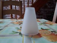 Wanted, glass opaque lampshade