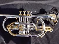 Eclipse Bb Cornet with Tom and Will Gig bag included.