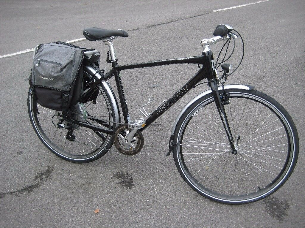 Giant Hybrid Electric Bike Giant Escape 2 Medium Mens Cycle