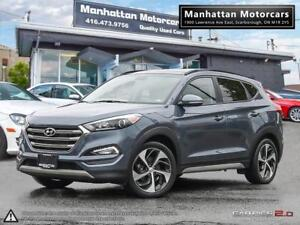 2017 HYUNDAI TUCSON LIMITED 1.6T AWD |PANO|CAMERA|LEATHER|B.SPOT