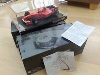 Hot Wheels Ferrari F2000 Schumacher World Champion Limited Edition