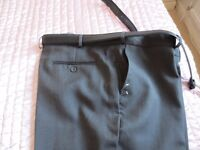 Large waist trousers