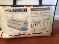 Homescape Feather and Down Duvet BNIB King size Tog 15