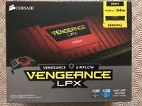 Corsair 64GB Vengeance LPX DDR4 3600MHz RAM/Memory Kit 4x 16GB