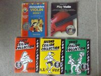 Violin and Fiddle Music Books with Tuition CDs - Free UK Mainland Delivery