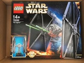 Lego UCS 75095 Edition Tie Fighter. Get it for Xmas.