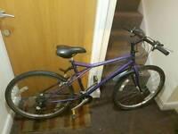 Dawoo mountain bike with 26 wheel size.