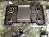 Britannia Hob - H90F - SS -F suit new kitchen. Fits standard opening. Worth £1100
