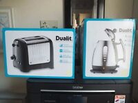 Dualit Kettle and Toaster. Brand New-cream