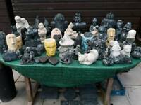 50 solid stone garden ornaments for sale