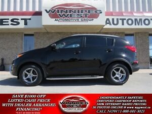 2014 Kia Sportage BLACK & CHROME, HEATED SEATS, LOCAL TRADE, SHA