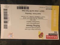 Rolling Stones Twickenham 19th June ticket