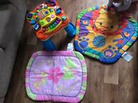 FREE ACTIVITY TABLE AND BABY MATS