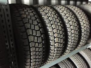 P235/70R16 Avalanche winter tire package with TPMS, steel rims