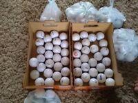 GOLF BALLS. Hundreds for sale good makes