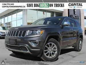 2015 Jeep Grand Cherokee Limited *Nav-Leather-Rear Cam*