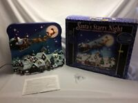 CHRISTMAS SCENE LED STARRY NIGHT GOOD CONDITION £10