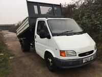Ford transit 3 way Tipper very low mileage 77k from new ultra reliable smiley face twinwheel Tipper