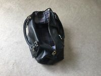 Original Barbour Men's Travel bag. Unused,real leather, ideal as travel bag