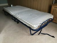 Ikea folding bed and mattress